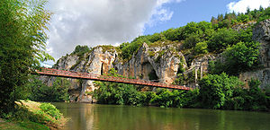 Bouziès - Image: Bouziès pont