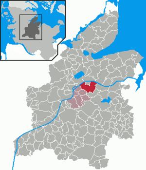 Bovenau - Image: Bovenau in RD