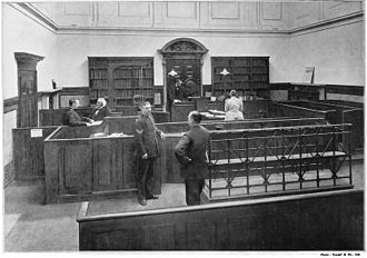 Bow Street Magistrates' Court - The Court in 1895
