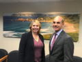 Bradley meets Ronnie Millar & team during a visit to the Irish International Immigrant Centre to discuss their invaluable work to support immigrants with legal, educational and wellness assistance and build a better fut (45793891772).png