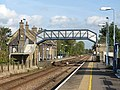 Brandon railway station - view east along the westbound platform - geograph.org.uk - 1516131.jpg