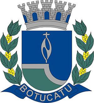 Botucatu - Image: Brasão de Botucatu