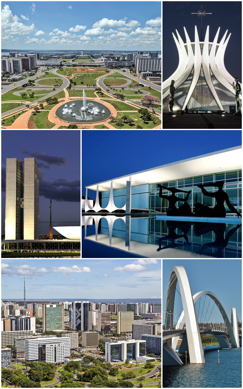 Brasília Collage