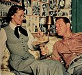 Brenda Marshall and her husband William Holden, 1954.jpg