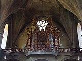 Bressanone, san michele arcangelo, interno 06 organo.JPG