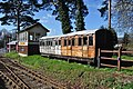 Bressingham Signal box and Great Eastern Carriage - geograph.org.uk - 1780599.jpg