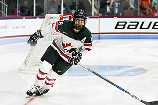 Brianne Jenner ice hockey player