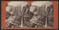 Bridal Veil Falls, 300 feet high, below Middle Falls, by A. M. Tinkham.png