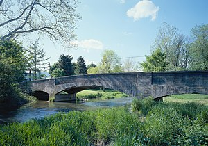 Bridge in Metal Township - Bridge in Metal Township, May 2003