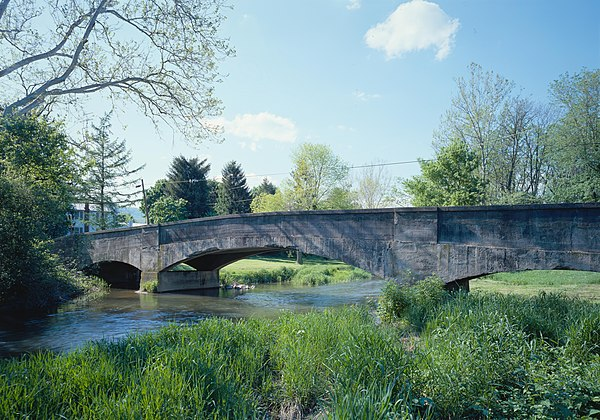 Bridge In Metal Township