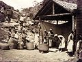 Bringing in the tea leaf, Darjeeling, 1890.jpg