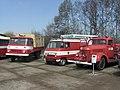 Brno, Řečkovice, depozitář TMB, hasičské vozy (2).jpg