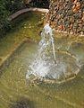 Brollador, jardí del Xalet de Panach.JPG