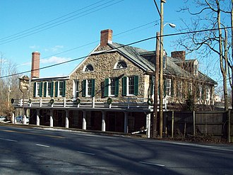 Brooklandville House - Brooklandville House, December 2009