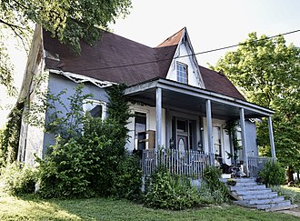 National Register of Historic Places listings in Franklin County, Kentucky - Image: Brown Henry House