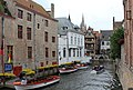 Bruges, the canal Groenerei.JPG