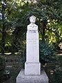 Bucuresti, Romania, Parcul Cismigiu (Aleea Rondului Roman - Statuia lui Ion Creanga); B-II-a-A-19655.JPG