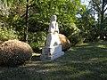 Bucuresti, Romania, Parcul Herastrau (Statuie in peisaj); B-II-a-A-18802 (3).JPG