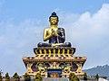 Buddha statue at Buddha Park of Ravangla, Sikkim, India (3).jpg
