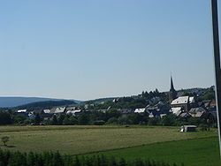 Skyline of Bundenbach