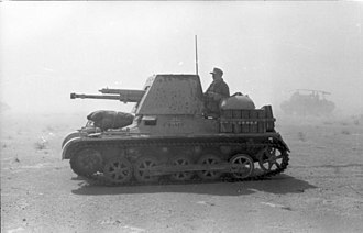 Tank destroyer - Panzerjäger I