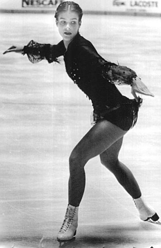Katarina Witt - Katarina Witt in 1982