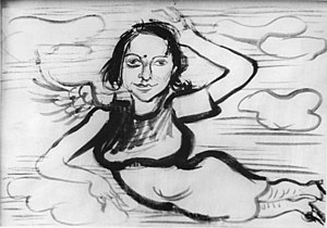 "Lea Grundig - ""Portrait of Lea"" by Hans Grundig (1928)"