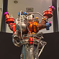 Bundeskunsthalle - OuterSpace - Haupttriebwerk Viking 5c, Ariane 4-4593.jpg