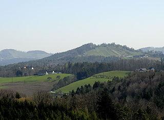 Hill in Austria