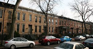 Burling Row House District - Burling Street Row Houses