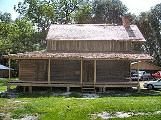 National Register of Historic Places listings in Baker County, Florida - Image: Burnsed Blockhouse 01
