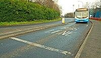 Bus lane, Belfast - geograph.org.uk - 1111161.jpg