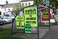 Bus shelter, Castlewellan, May 2010.JPG