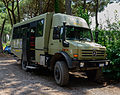 Bus shuttle - national park Vesuvius - Campania - Italy - July 9th 2013 - 02.jpg