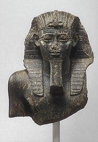 Buste van Psamtik I, Metropolitan Museum of Art