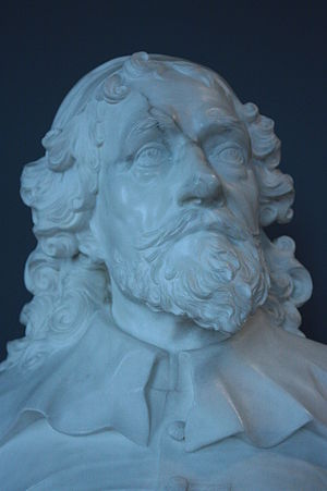 Inigo Jones - Bust of Inigo Jones by John Michael Rysbrack, 1725