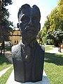 Bust of Sándor Lovassy by Péter Szabolcs (1994) in Keszthely, 2016 Hungary.jpg