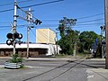 Buttonwoods Branch crossing of Elmwood Avenue, May 2017.JPG