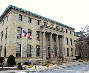 Bronx Community College - Image: Bx CC Hall of Languages jeh