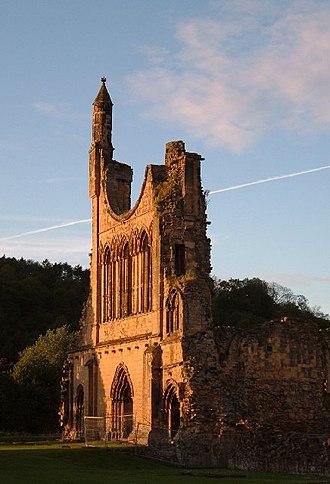 Byland Abbey - Image: Byland Abbey(Alison Stamp)May 2005
