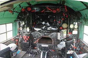 Chesapeake and Ohio 614 - Image: C&O Railway Heritage Center C&O 614 Locomotive 9