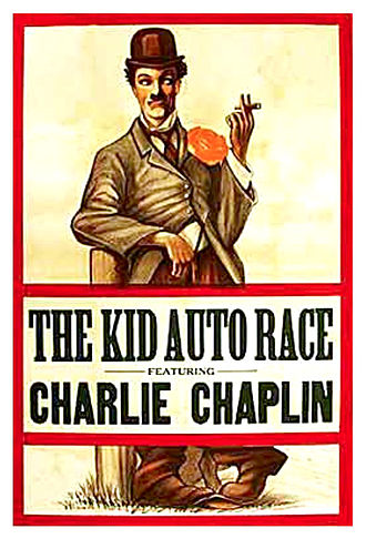 Kid Auto Races at Venice - Theatrical poster for Kid Auto Races at Venice (1914)