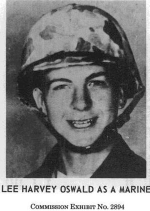 Oswald when he served in the US Marine Corps