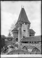 CH-NB - Estavayer-le-Lac, Château Chenaux, vue partielle extérieure - Collection Max van Berchem - EAD-6880.tif