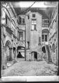 CH-NB - Lausanne, Maison, Façade, vue partielle - Collection Max van Berchem - EAD-9440.tif