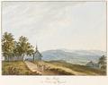 CH-NB - Stoss, Schlachtkapelle mit Blick gegen das Rheintal von Westen - Collection Gugelmann - GS-GUGE-FÜSSLI-H-E-3.tif