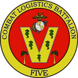 Logistics combat element - Image: CLB5logo