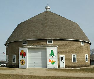 C.A. Rownd Round Barn United States historic place