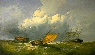 Sea Piece: The Goodwin Lightship