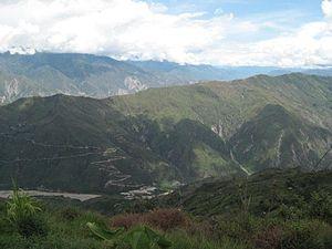 Chicamocha River - Image: Cañon del del rio Chicamocha 007